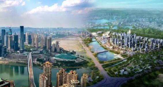 """""""第四极""""的崛起,成渝两座城市的携手并进、离不开成都作为双核之一的引领带动"""