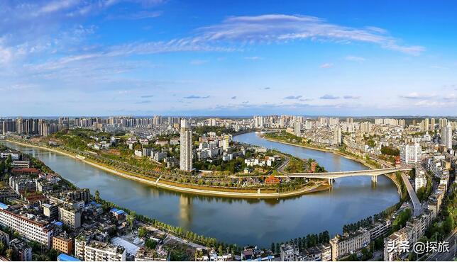 内江城市介绍:气候、美食、交通、景点等。