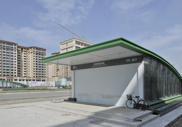 成都地铁四号线途经站点及周边环境介绍。