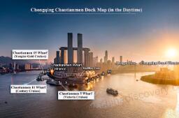 朝天门码头超详细旅游攻略:广场,码头,如何登船,地图及前往方式等。