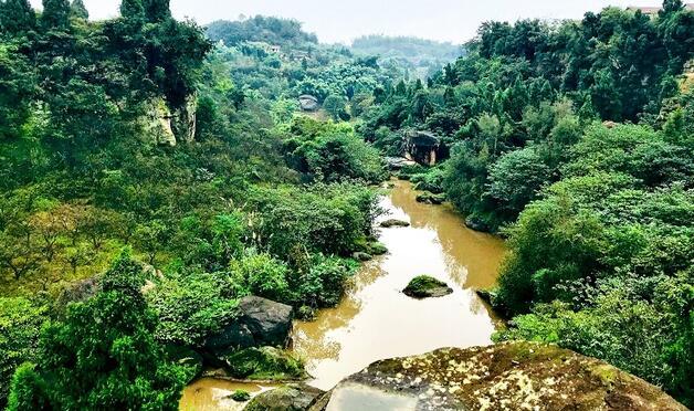 内江旮旯沟旅游风景区正在打造 明夏正式亮相