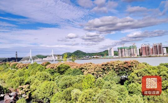 绵阳市前三季度环境空气质量平均优良天数率为90.8%